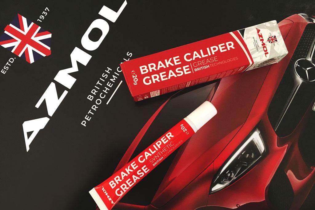 Новинка в ассортименте AZMOL — смазка BRAKE CALIPER GREASE